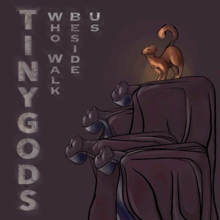 Amaranth TINY GODS cover for INTERVIEW